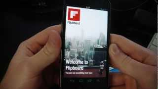 Flipboard for Android Hands On with Download! screenshot 2