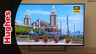 2017 Sony Bravia XE80 4K HDR Android TV