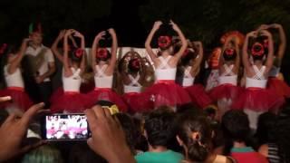 Balé das criança do Luis Alves no 9º Festival das Crianças do bairro