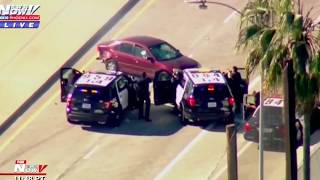 WILD 2 Hour Los Angeles Police Chase 2019 [Hit and Run]