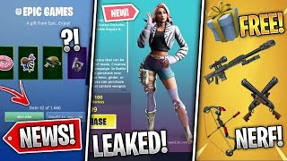 Every Item Hack, Wilde Starter Pack, Arena Free Rewards, 9.20 Update, Sniper Vault! (Fortnite News)
