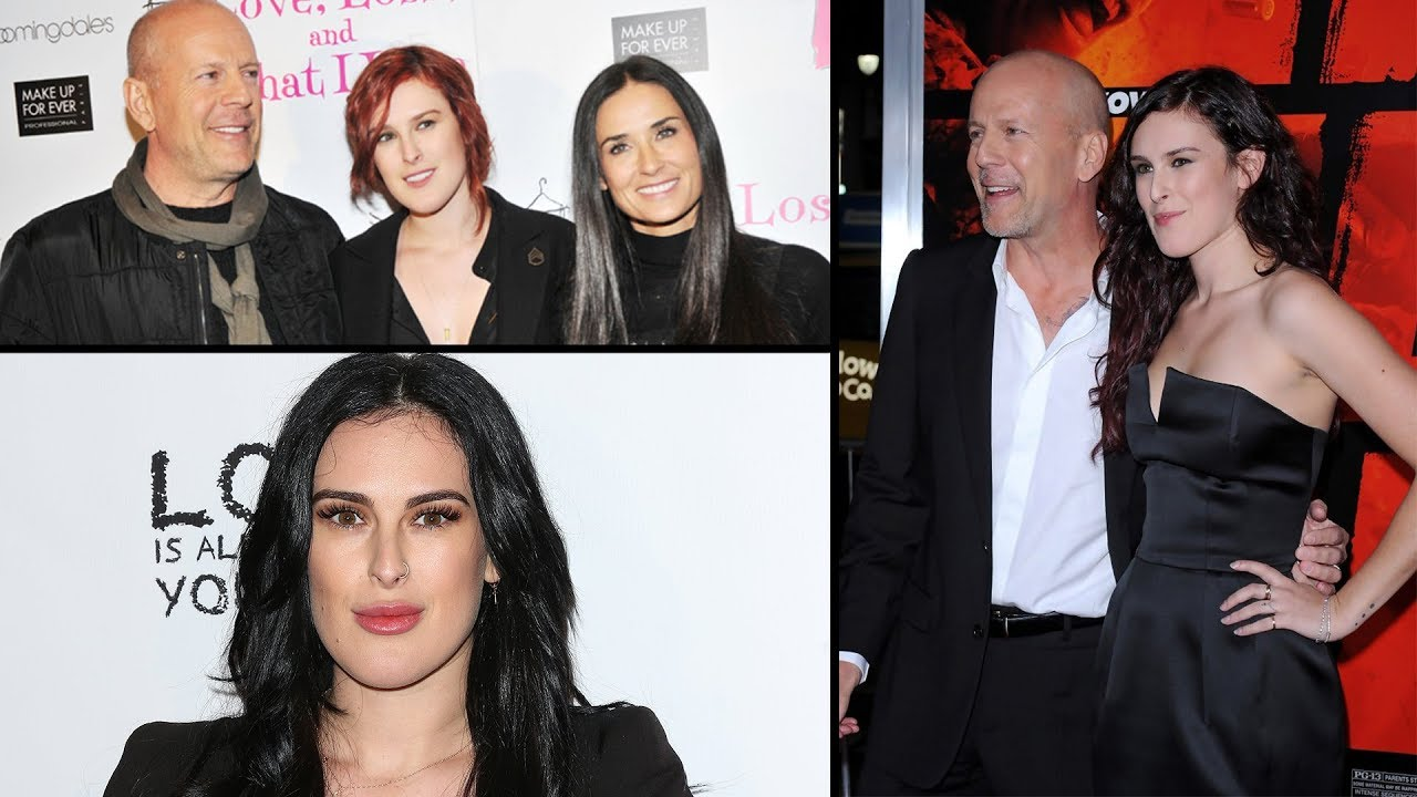 Bruce Willis and Demi ...