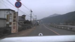 田川郡添田町内へ 2010.1.11. ‐12