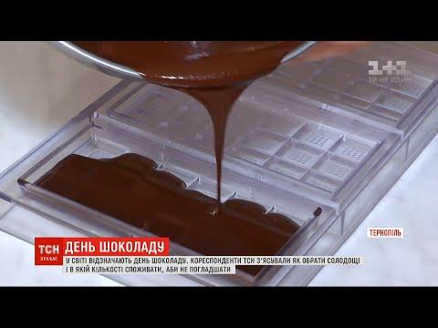 ТСН: День шоколаду: як обрати солодощі і в якій кількості їх споживати, аби не погладшати
