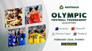 13 02 20 Australia v China PR Women s Olympic Football Tournament Qualifier Full Match