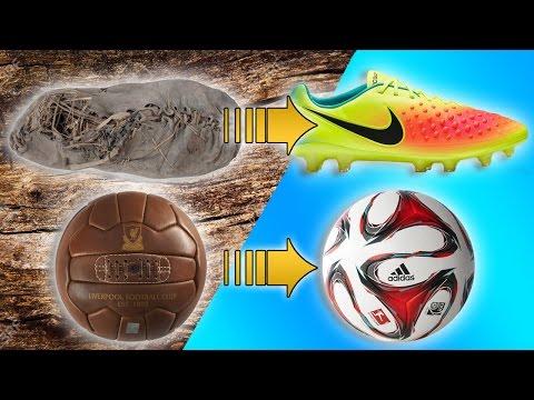 El Origen Y Evolución De Los Botines y Balones de Futbol