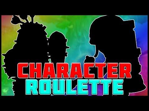 CHARACTER ROULETTE! Plants vs Zombies Garden Warfare 2