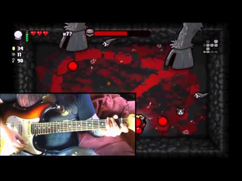 Hericide (Satan Fight) GUITAR COVER- Binding Of Isaac Rebirth