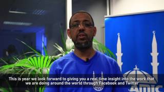 Ramadan Greetings from Naser Haghamed, Islamic Relief Worldwide CEO