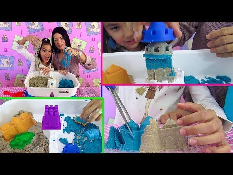ReToS con KINETIC SAND Super Divertidos. AnaNana TOYS