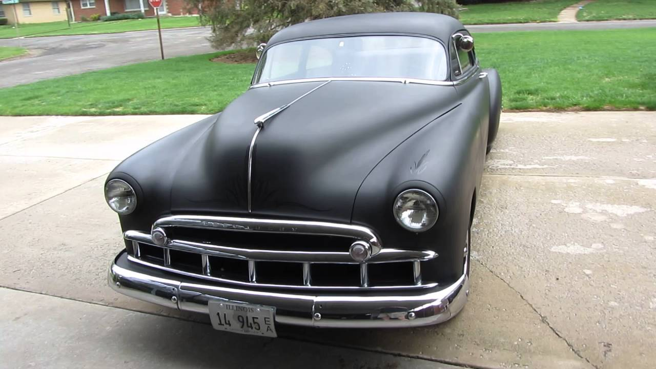 1949 CHEVY FLEETLINE / RAT ROD / HOT ROD / LEAD SLED - YouTube