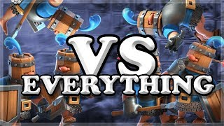 Royal Recruits vs All Cards | 104 Interactions | Clash Royale 🍊