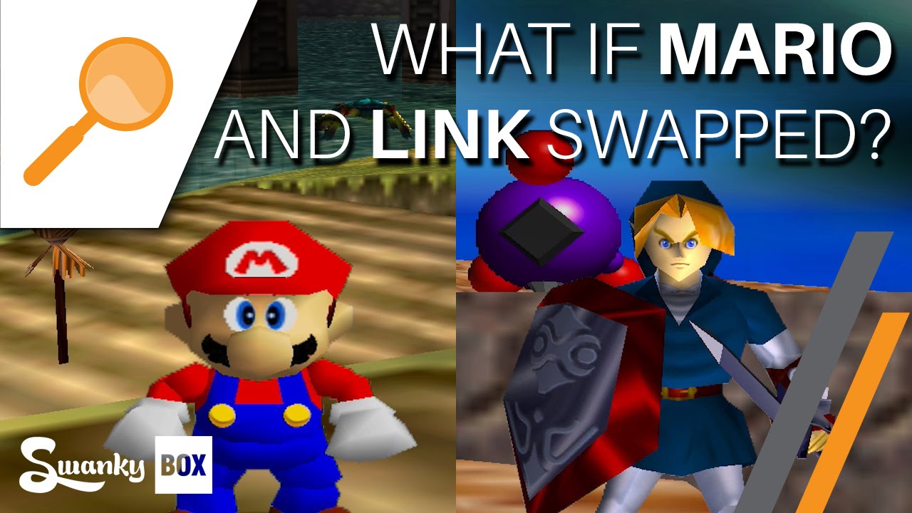 nintendo 64 what if mario and link swapped swankybox youtube