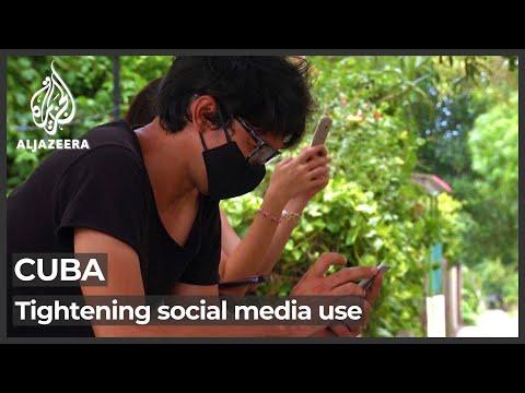 Cuba's new social media laws spark concerns