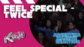 Argentina massive reaction to #twice #feelspecial. hoy les traemos la reacción masiva al mv comeback de twice, 'feel special', que pertenece a su octavo mini...