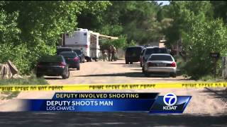 Deputy shoots Valencia Co. man during welfare check