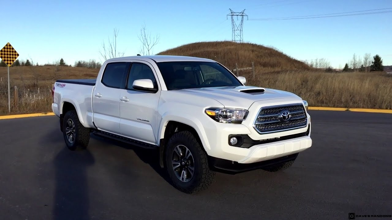 Tacoma Double Cab >> 2017 Toyota Tacoma TRD Sport Double Cab on 265/70R17 Tires ...