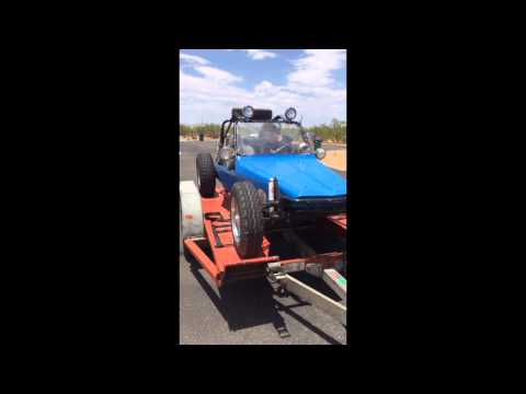 Chenowth amazing dunebuggy getting picked up after i purchased it in Arizona