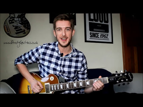 Easy Rock Power Chords | beginners guitar lesson