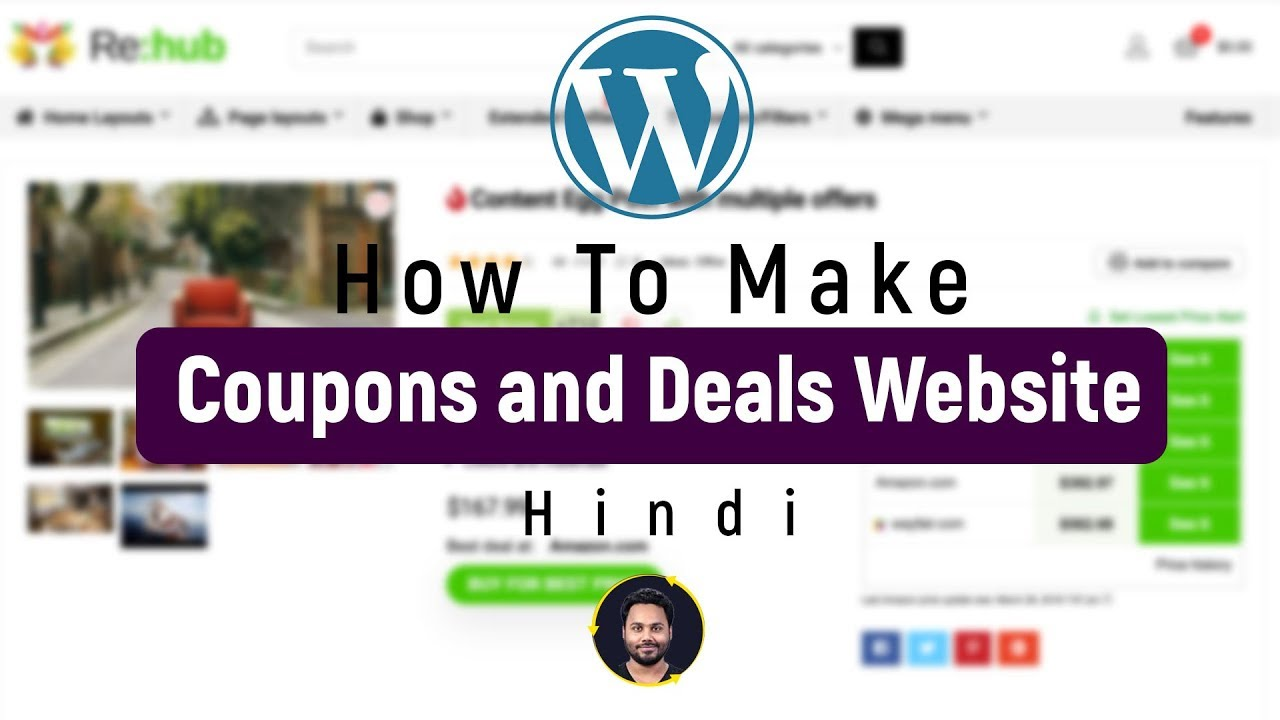 How To Create Coupons And Deals Website   Complete Tutorial