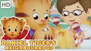 Daniel Tiger 🍼 Little Sister Does Not Like Noise 🥁 | Videos for Kids