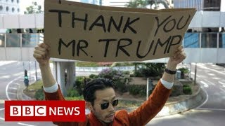 Hong Kong: China warns US over Human Rights and Democracy Act - BBC News