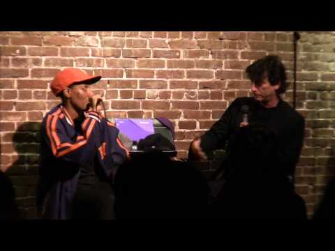 Bonus clip! Rashid learns how to speak in a British accent from Neil Gaiman