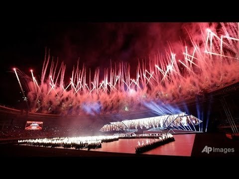 27th SEA Games Opening Ceremony( Nay Pyi Taw)