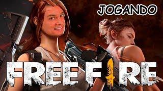 FREE FIRE JOGUEI E MATEI GERAL