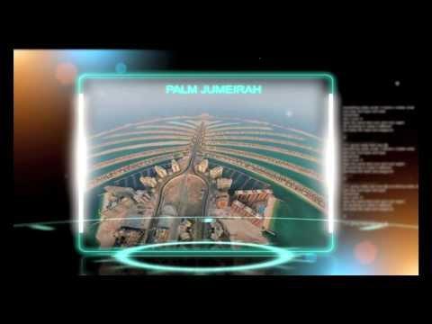Dubai Palm Jumeirah graphix