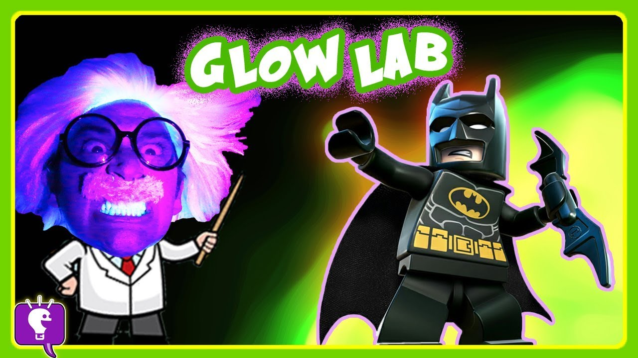 Batman Makes GLOWING Science Experiment with HobbyHarry on HobbyKidsTV!