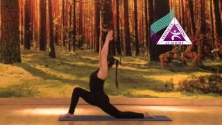 Yoga - Anjaneyasana (Crescent Moon Pose)