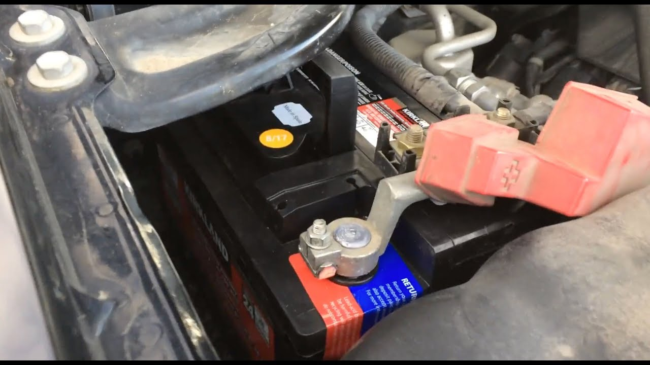 2017 Gmc Sierra 1500 Battery Replacement