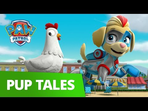 PAW Patrol | Chick-a-lotta | Mighty Pups Rescue Episode | PAW Patrol Official & Friends!