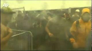 Raw Video  Storm Kills 3 at Belgian Festival