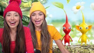Our First Time Playing Nintendo PIKMIN 3 DELUXE  - Merrell Twins
