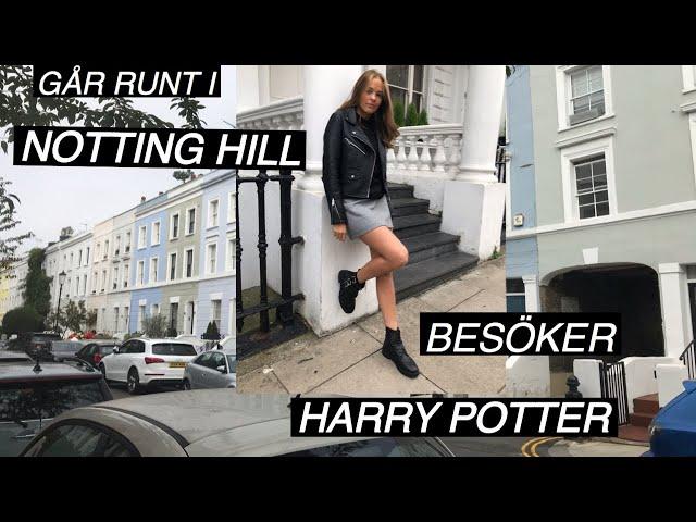 LONDON VLOGG 2, HARRY POTTER OCH NOTTING HILL