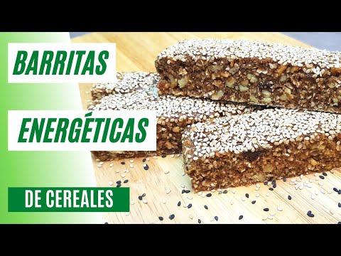 Barritas de Cereales | Barritas Energéticas Fáciles y Nutritivas #95