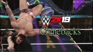 WWE 2K19 | All Comebacks