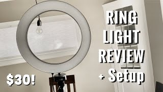 QIAYA Ring Light Unboxing/ Review + Setup