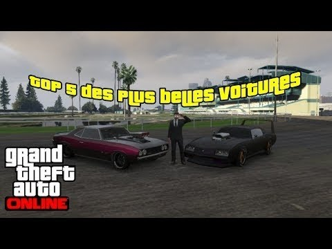 evenement top 5 plus belles voitures de gta online ep1 youtube. Black Bedroom Furniture Sets. Home Design Ideas