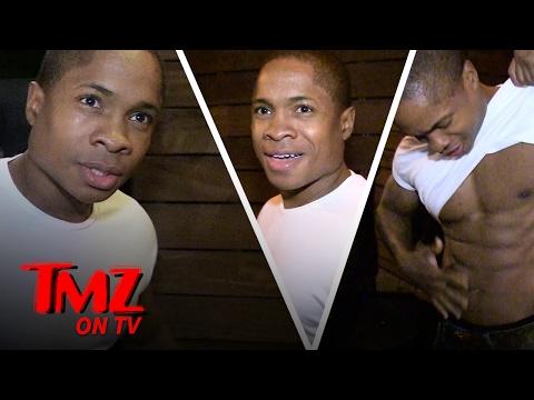 Sam Jones III : Abs For Days!  TMZ TV