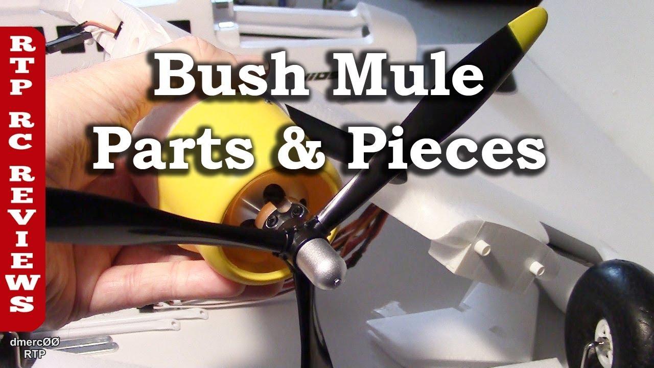 HK Bush Mule Review Part 3 - Detailed Parts Overview all Parts Shown