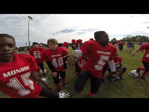 Gopro Monroe County Georgia Bulldogs Undefeated 9U 2016 Champions