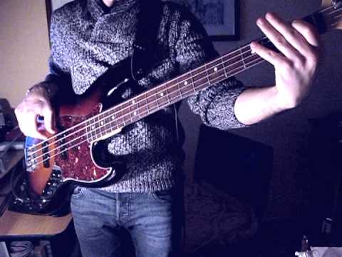 Radiohead Just Bass Cover Roberto De Rosa Youtube