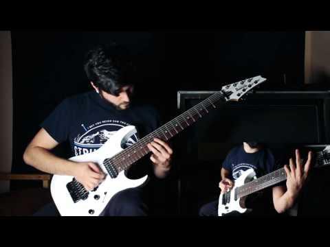 New Guitar Test - Ibanez RG2228 A Galaxy White 8 String