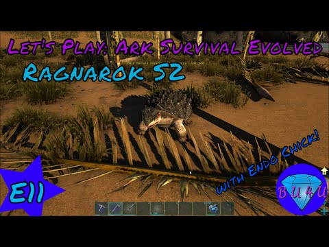 Almost robbing me blind - Ark Survival Evolved with Endo Chick | Modded | Let's Play | S2E11