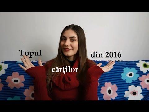 Topul cărților citite în 2016