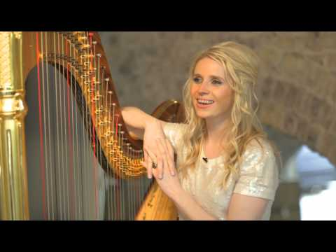 Claire Jones 'The Girl with the Golden Harp' Classic FM