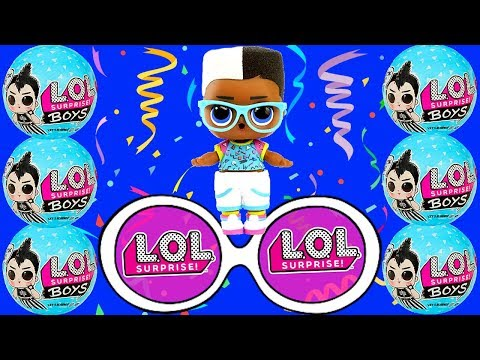"""NEW L.O.L. Surprise! Boys Character Dolls with 7 Surprises! """"LOLKINS WORLD"""" AGS"""